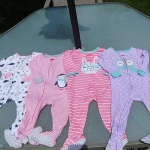 Bundle of Carter's Lightweight Pajamas